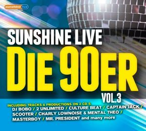 sunshine live Die 90er VOL. 2